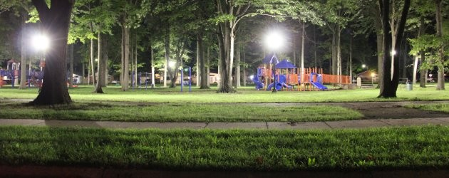 New lights installed in Daly Park