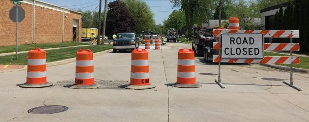 Princeton Street getting much needed repairs