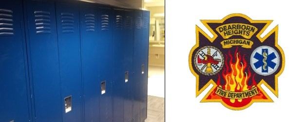 New Lockers for Fire Station #1